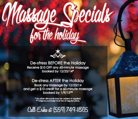 Day Spa Specials Post for House of Enchantment Day Spa Visalia